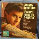 Johnny Tillotson-It Keeps Right On A-Hurtin-LP-Cadence-CLP 3058-Vinyl Record
