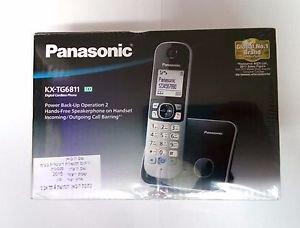 Cordless Phone KX-TG6811 Answering Panasonic System Kx Digital New Top Key
