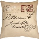 Pillow Decor - 1907 Airmail 24x24 Throw Pillow  - SKU: VB1-0008-01-24
