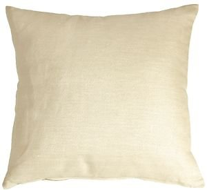 Pillow Decor - Tuscany Linen Cream 18x18 Throw Pillow  - SKU: NB1-0005-10-18