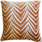 Pillow Decor - Samba Orange 20x20 Throw Pillow  - SKU: DC1-0004-04-20