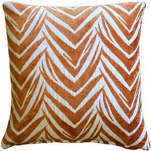 Pillow Decor - Samba Orange 20x20 Throw Pillow  - SKU: DC1-0004-04-20