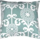 Pillow Decor - Waverly Fun Floret Spa 20x20 Throw Pillow  - SKU: WB1-0003-03-20