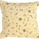 Pillow Decor - Tribal Yellow Pillow  - SKU: PA1-0025-00-17