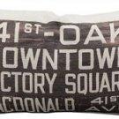 Pillow Decor - 41st and Oak Bus Scroll Throw Pillow  - SKU: MOV-0001-04-92
