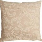 Pillow Decor - Brackendale Ferns Cream Throw Pillow  - SKU: SD1-0001-01-22