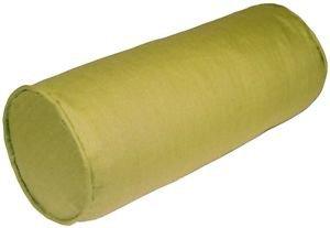 Pillow Decor - Tuscany Linen Apple Green 8x20 Bolster Pillow