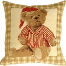 Pillow Decor - Tapestry Sleepy Time Teddy Pillow  - SKU: BA1-0003-01-13