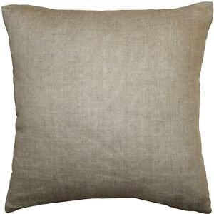 Pillow Decor - Tuscany Linen Natural 17x17 Throw Pillow  - SKU: NB1-0005-14-18