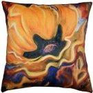 Pillow Decor - Yellow Poppy 20x20 Throw Pillow - SKU: SH1-0003-01-20