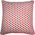 Pillow Decor - Big Island Bay Scallop Tiny Scale Print Throw Pillow 26x26
