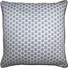 Pillow Decor - Big Island Sand Dollar Tiny Scale Print Throw Pillow 26x26