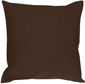 Pillow Decor - Caravan Cotton Brown 16x16 Throw Pillow  - SKU: SE1-0001-15-16