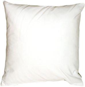 Pillow Decor - Caravan Cotton White 23x23 Throw Pillow  - SKU: SE1-0001-12-23