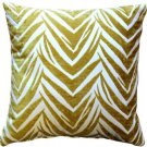 Pillow Decor - Samba Yellow 20x20 Throw Pillow  - SKU: DC1-0004-02-20