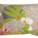 Pillow Decor - Hawaii Garden 12x20 Floral Throw Pillow  - SKU: VB1-0014-01-92