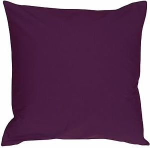 Pillow Decor - Caravan Cotton Purple 20x20 Throw Pillow  - SKU: SE1-0001-06-20