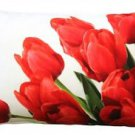 Pillow Decor - Spring Tulips Throw Pillow 12x20  - SKU: PD2-0063-01-92