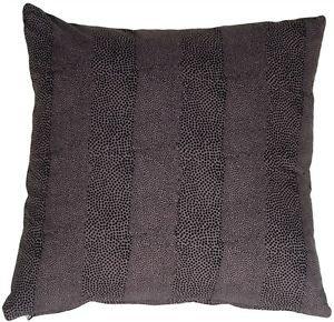 Pillow Decor - Cobra Print Cotton Large 22x22 Throw Pillow