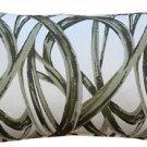 Pillow Decor - Flair 12x20 Green Throw Pillow  - SKU: DC1-0001-03-92