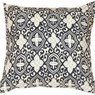 Pillow Decor - Alhambra Handprint Indigo 22X22 Throw Pillow