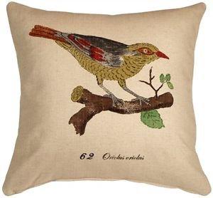 Pillow Decor - Bird on Branch 20x20 Throw Pillow  - SKU: VB1-0002-01-20