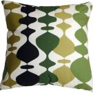 Pillow Decor - Lava Lamp Green 20x20 Throw Pillow  - SKU: VB1-0017-02-20