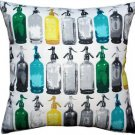 Pillow Decor - Seltzer Blues Vintage Throw Pillow 20x20  - SKU: MOV-0009-02-20