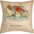 Pillow Decor - Wading Birds 20x20 Throw Pillow  - SKU: VB1-0003-01-20