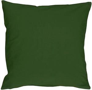 Pillow Decor - Caravan Cotton Forest Green 20x20 Throw Pillow