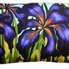 Pillow Decor - Purple Irises 12x20 Throw Pillow  - SKU: SH1-0008-01-92
