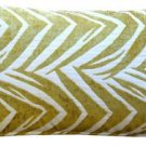 Pillow Decor - Samba Yellow 12x20 Throw Pillow  - SKU: DC1-0004-02-92