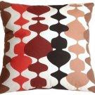 Pillow Decor - Lava Lamp Red 20x20 Throw Pillow  - SKU: VB1-0017-01-20