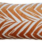 Pillow Decor - Samba Orange 12x20 Throw Pillow  - SKU: DC1-0004-04-92