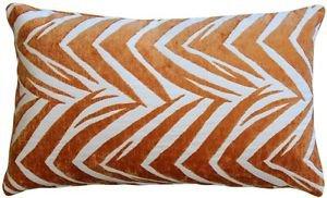 Pillow Decor - Samba Orange 12x20 Throw Pillow  - SKU: DC1-0004-04-92