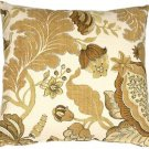 Pillow Decor - Harvest Floral Yellow 20x20 Throw Pillow  - SKU: VB1-0022-03-20