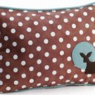 Pillow Decor - Fawn Polka Dot Decorative Throw Pillow  - SKU: GC1-0005-01-62