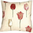 Pillow Decor - Albany Tulips 22x22 Throw Pillow  - SKU: VB1-0025-01-22