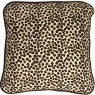 Pillow Decor - Deer Print Cotton Large Throw Pillow  - SKU: PC1-0005-01-22