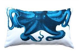 Pillow Decor - Octopus Throw Pillow 12X20  - SKU: PD2-0080-01-92