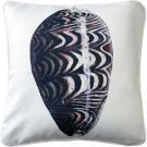 Pillow Decor - Ponte Vedra Day Break Cowrie Throw Pillow 20x20