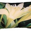 Pillow Decor - Pamianthe Lily 12x20 Throw Pillow
