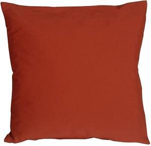Pillow Decor - Caravan Cotton Orange Rust 23x23 Throw Pillow