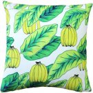 Pillow Decor - Banana Jungle Throw Pillow 20x20  - SKU: SK1-0007-01-20
