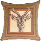 Pillow Decor - Antelope Tapestry Throw Pillow  - SKU: AB1-8429-00-19