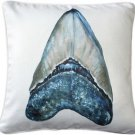 Pillow Decor - Ponte Vedra Shark's Tooth Throw Pillow 20x20