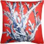 Pillow Decor - Ocean Reef Coral on Red Throw Pillow 20x20  - SKU: TC1-8080-02-20