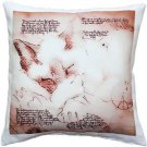Pillow Decor - Dreaming Cat Throw Pillow 17x17  - SKU: LE1-0045-01-17
