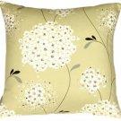 Pillow Decor - Vintage Bloom Green 22x22 Throw Pillow  - SKU: VB1-0019-01-22