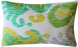 Pillow Decor - Ikat Journey Outdoor Throw Pillow 12x20  - SKU: WB1-0013-01-92